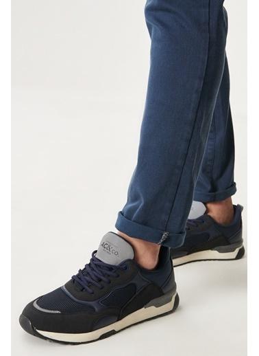 AC&Co / Altınyıldız Classics Casual Spor Sneaker Ayakkabı 4A2221100020 Lacivert